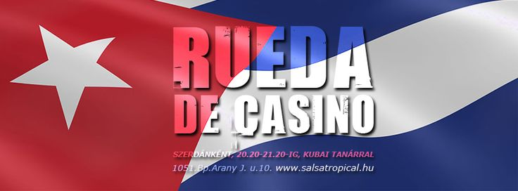 Minden szerdán Rueda de Casino www.salsatropical.hu