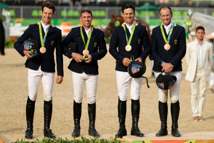 Australian men Rio olympics medals