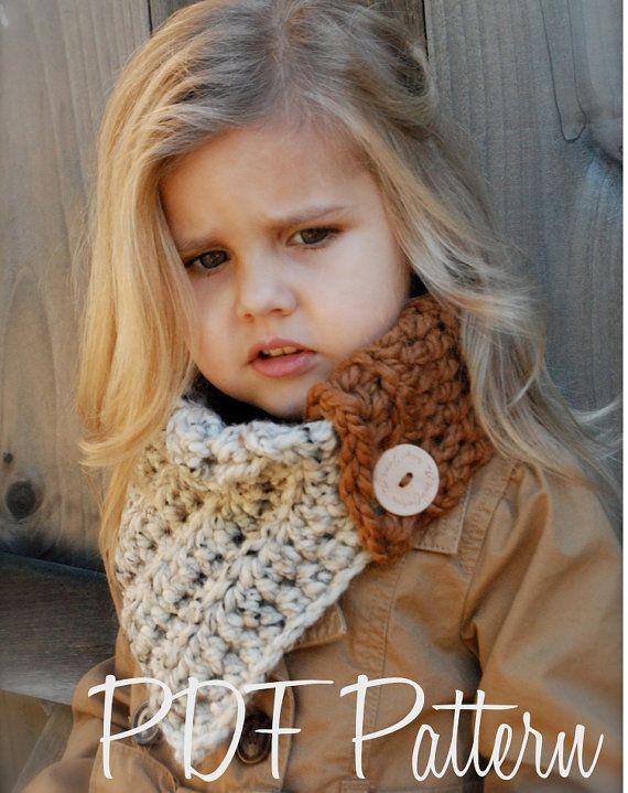 Crochet PATTERNThe Aspen Cowl Toddler Child and by Thevelvetacorn, $5.50