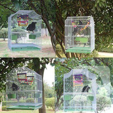 Only US$19.99 , shop Metal Budgie Canary Parakeet Cockatiel Finch Love Bird Parrot Macaw Bird Pet Cage at Banggood.com. Buy fashion Bird Cages & Accessories online.