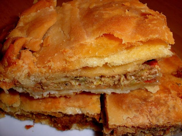 Tante Kiki: Με ό,τι απέμεινε... Παραδοσιακή πίτα της μαμάς με καστανιώτικο φύλλο!!!