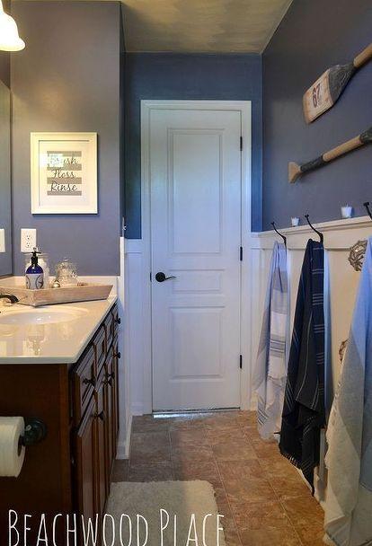 nautical bathroom decor, bathroom ideas, repurposing upcycling, wall decor