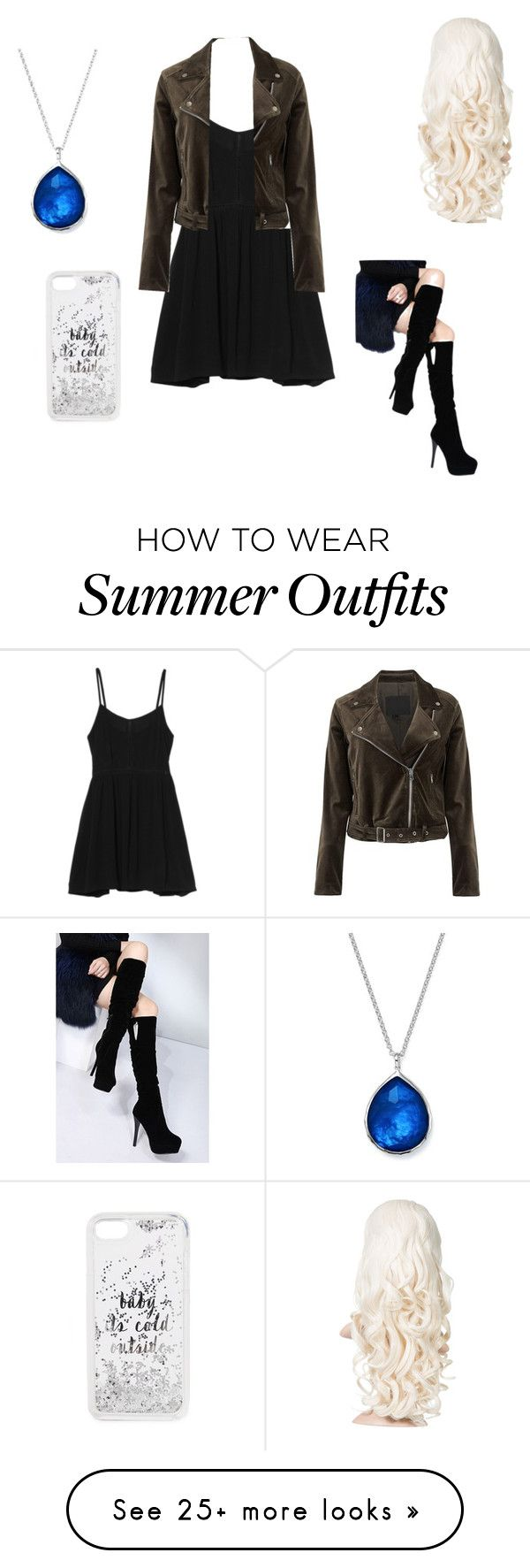 """""""Summer outfit 24"""" by estrellaojeda456 on Polyvore featuring MINKPINK, Ippolita, Paige Denim, WithChic and Kate Spade"""