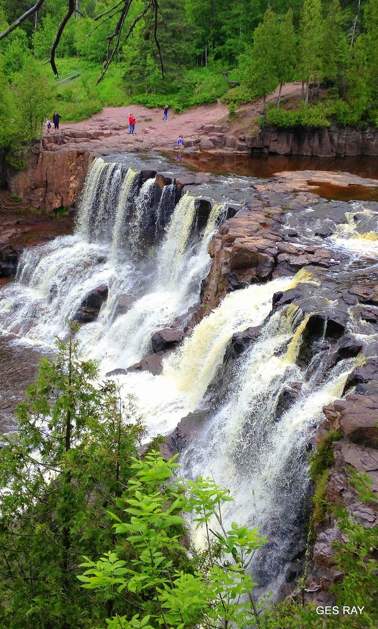 Gooseberry Falls State Park, Two Harbors, Minnesota, USA by Grace Ray on 500px