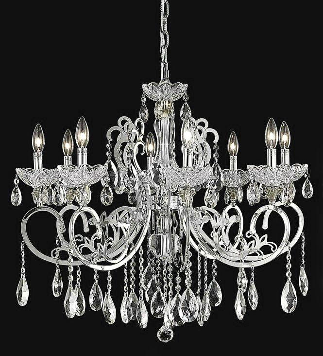 Elegant lighting 2830d29c ec aria collection dining room hanging fixture d29 5 x h26 chrome finish elegant cut crystals 雑貨 pinterest foyers