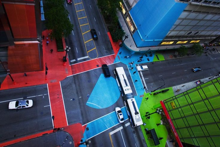 street art in chicago by jessica stockholder and chicago loop alliance