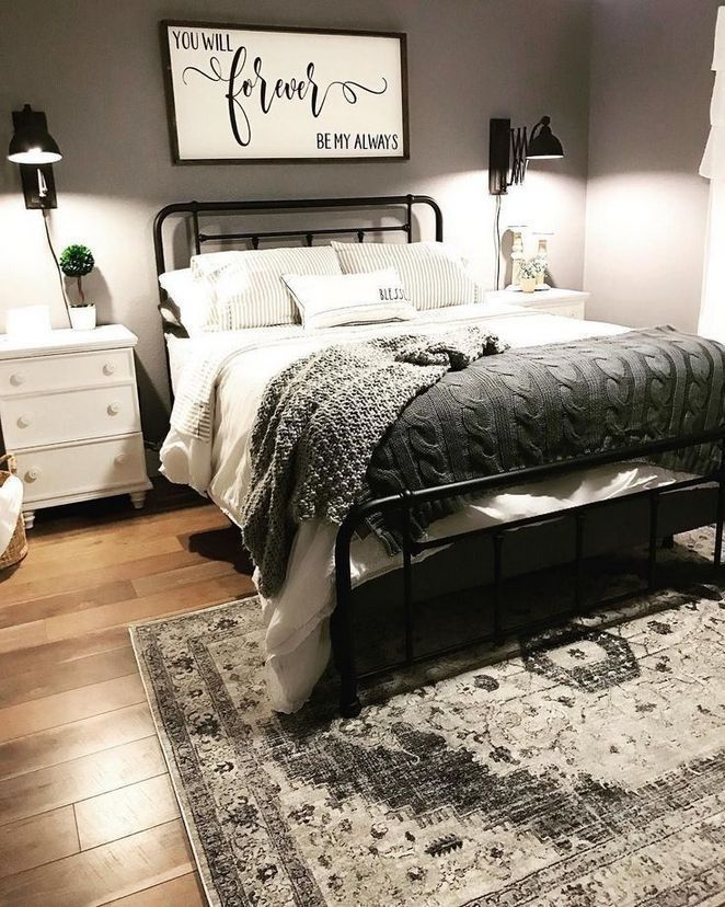 Romantic Farmhouse Master Bedroom Ideas Bedroomdesignanddecoration