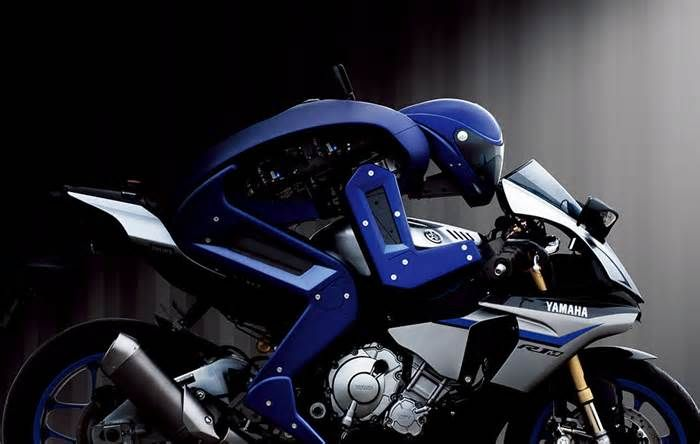 Humanity Finally Wins One as a Human Racer Defeats Yamaha's Robot Motorcycle The Yamaha MOTOBOT project began in 2015 with the goal of an A.I. driving a motorcycle