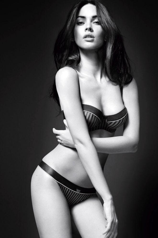 Megan Fox, la sexy imagen de Armani