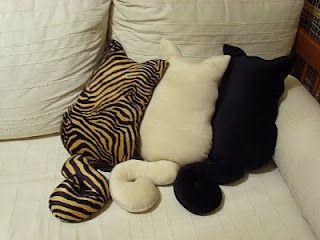 almofada de gatinhos *_*