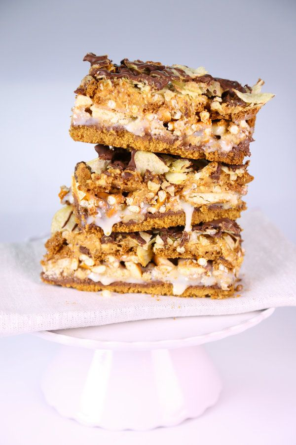 the chew | Recipe  | Daphne Oz's 10 Layer Bar Over 500 calories per 1x1 inch square, I have to try this!!