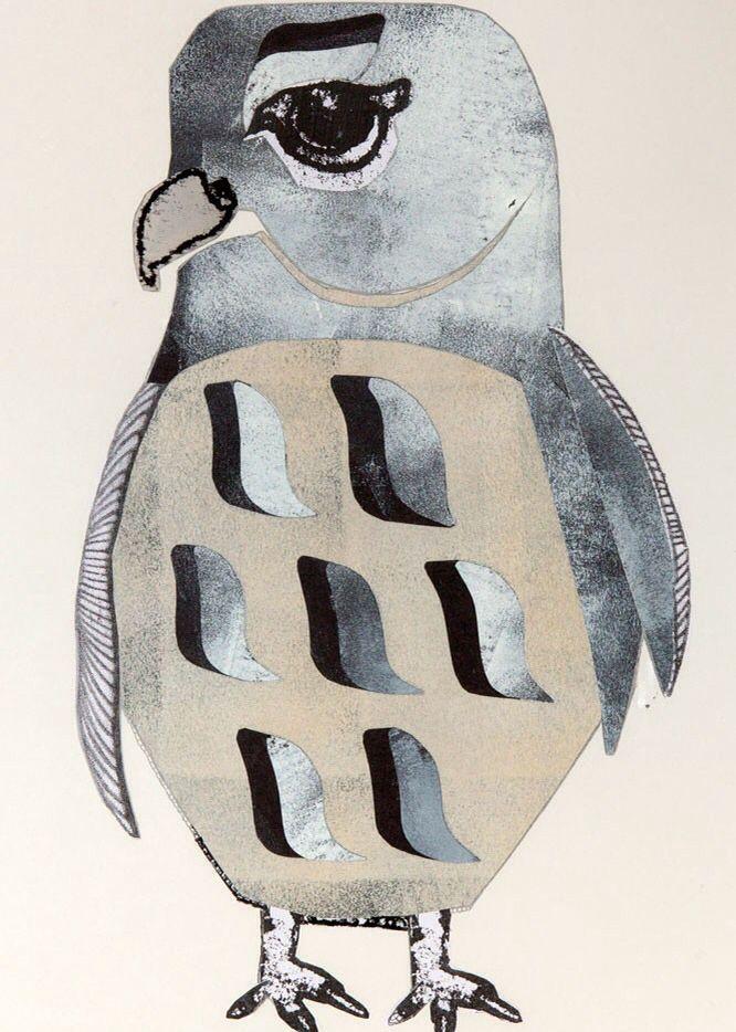 Falcon print by Monika petersen