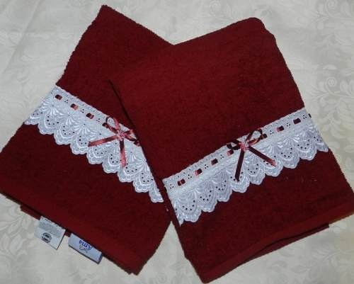 Decorate towels - Toallas bano ...