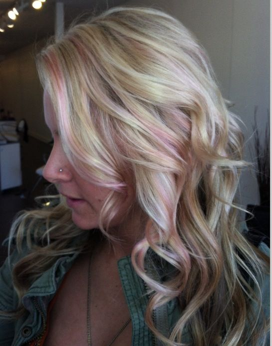 Rose gold highlights | Beauty | Pinterest | Rose gold ...