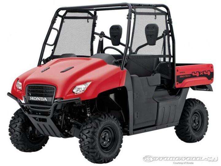 My big red love it Utility vehicles, Honda