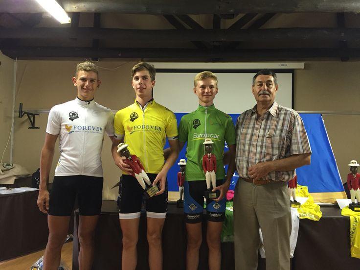 #ForeverResortSA #JnrCycleTour Final Prizegiving! Congrats to the Tour Overall Winners Jnr Ladies - Melandrie Meyer, Jnr Men - Gregory de Vink, U/16 Men - Ricardo Broxham