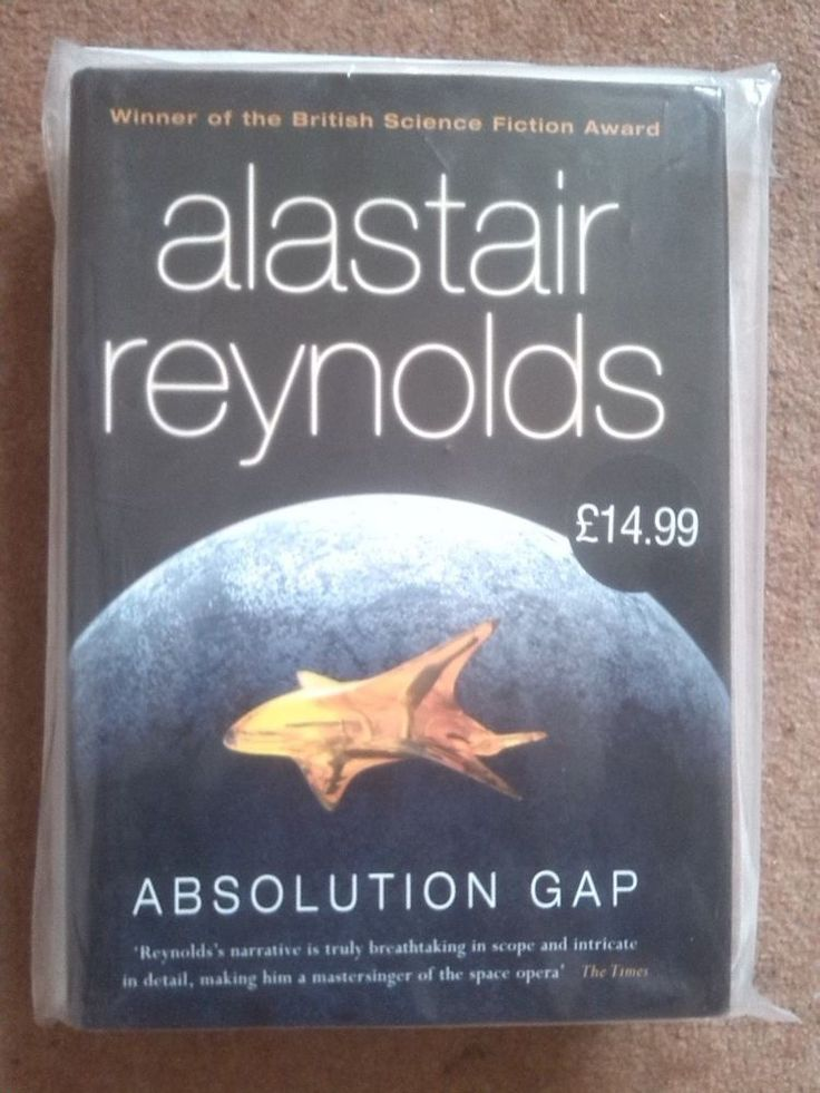 Absolution Gap by Alastair Reynolds (Hardback,)