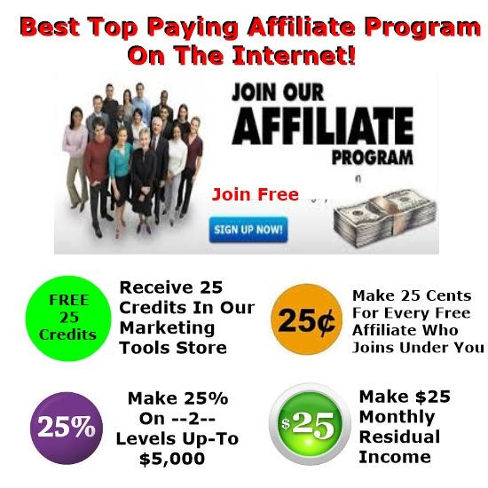 Top Best Paying Affiliate Program Internet Free To Join - By Best Places Advertise Free