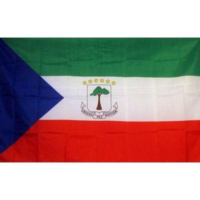 NeoPlex Equatorial Guinea Country Traditional Flag