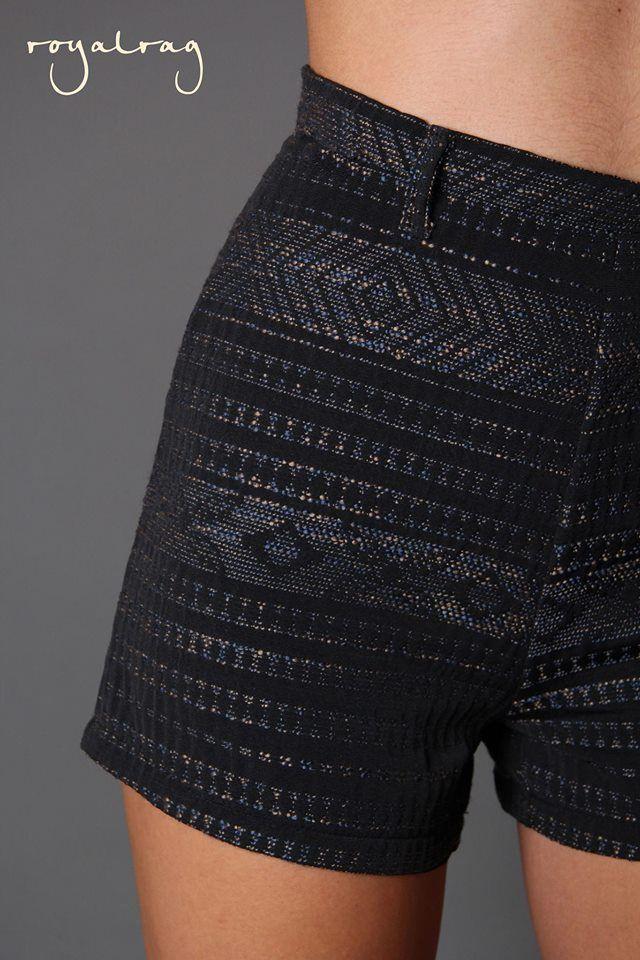 """Fall"" Shorts www.royalrag.eu #royalrag #new #shorts #highwaisted"