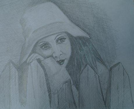 Набросок - Изобразительное искусство - Карандаш, ручка, фломастер.