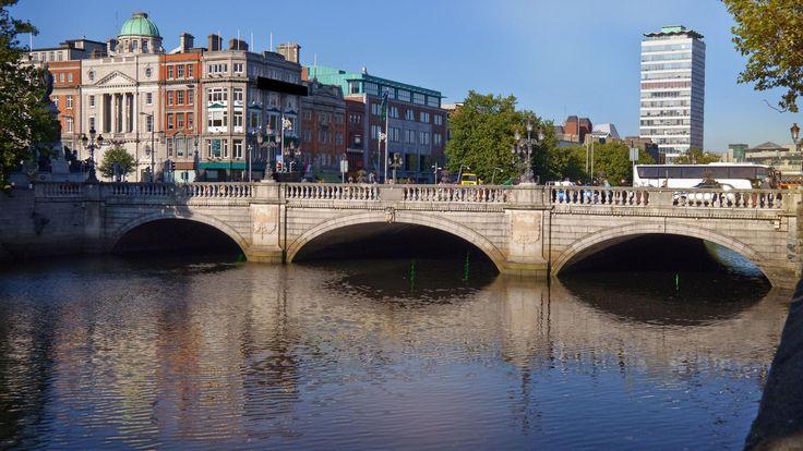 Dublin city scene, Ireland