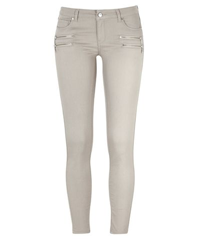 Gina Tricot - Elle jeans med zippar