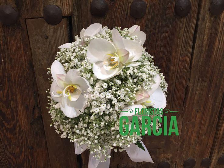 Sutil ramo de novia de Orquideas