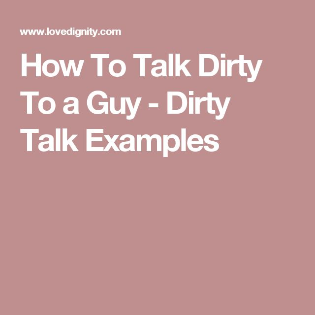 Dirty talk examples for women-7792