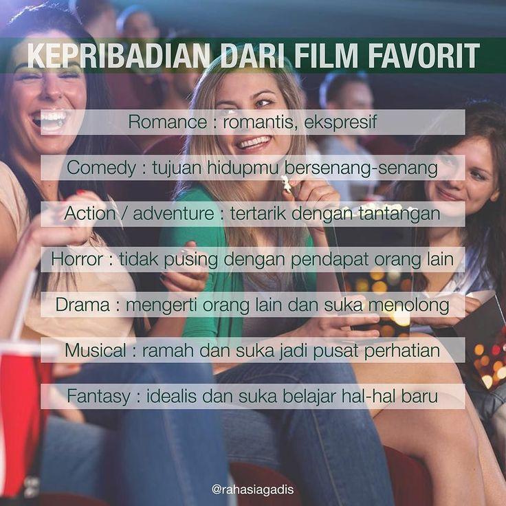 Apa film favoritmu?  #rahasiagadis #rahasiakepribadian