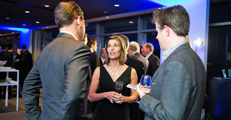 """Sharyl Attkisson's new show, """"Full Measure,"""" debuts Sunday. She speaks to attendees at a Wednesday reception at the Newseum. (Photo courtesy of Sinclair Broadcast Group)"""