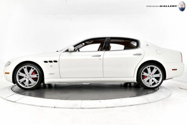 2007 Maserati Quattroporte, 46,540 miles, $38,980.