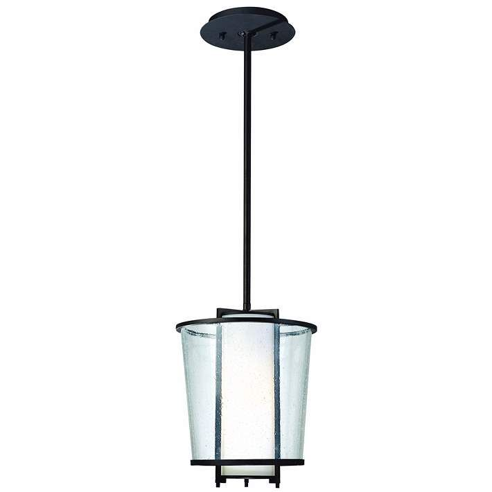 Bennington 12 High Hanging Outdoor Light F2535 Lamps Plus In 2020 Hanging Porch Lights Hanging Lantern Lights Lantern Light Fixture