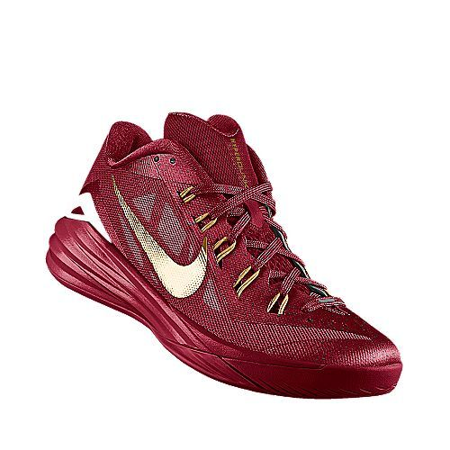I designed the black Florida State Seminoles Nike men's basketball shoe.