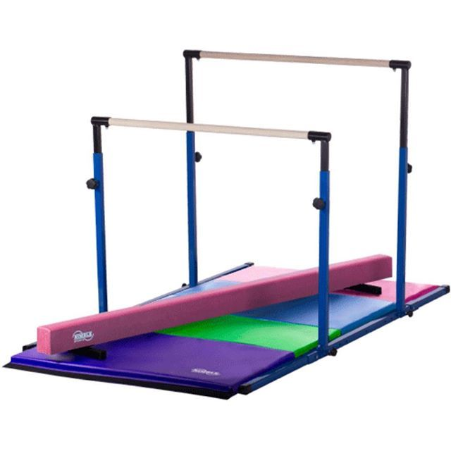 Our 3play Can Be Converted Into 3 Different Bars That Are Great For All Types Of Gymnasts Gymnastics Equipment For Home Gymnastics Equipment Gymnastics Beam