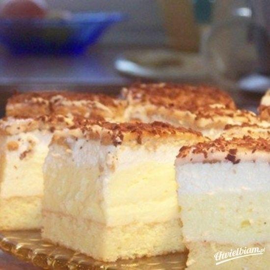 Ciasto cytrynowe pyszne - przepis na Uwielbiam.pl