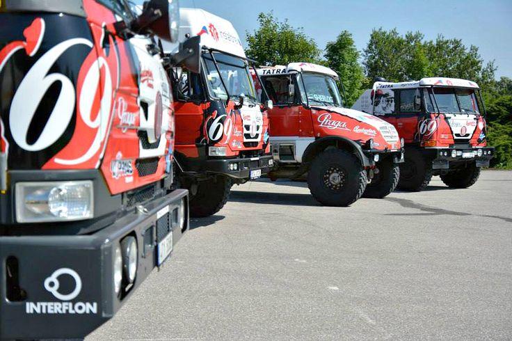 Instaforex Loprais Team 2014 - redesign and wraps for Rally Dakar 2014.