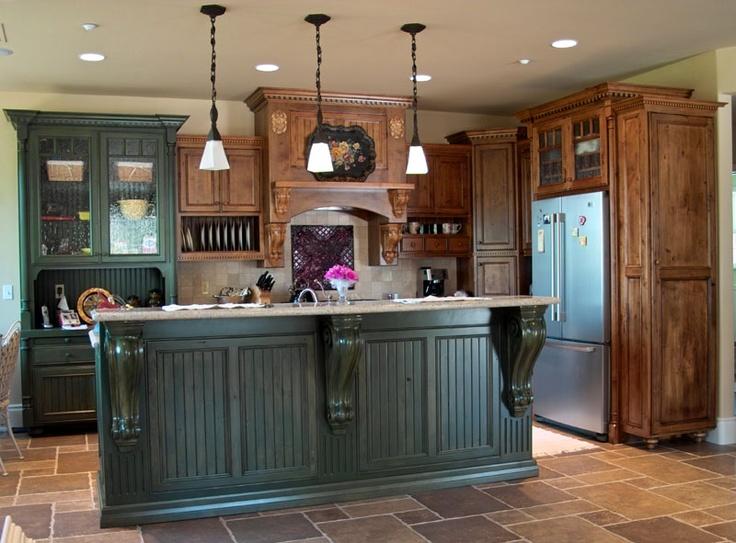New Knotty Alder Cabinets Utah