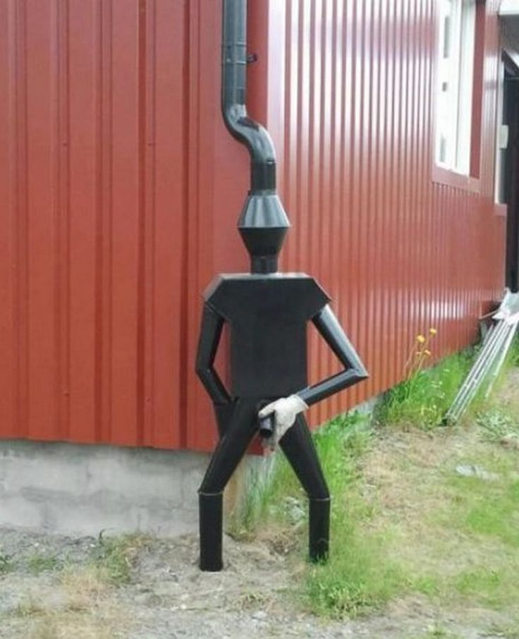 Gutter Man ... and my man said if I can make it, we can have it !
