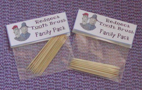 Redneck Baby Gift Ideas : Hillbilly gift ideas redneck tooth brush christmas gag
