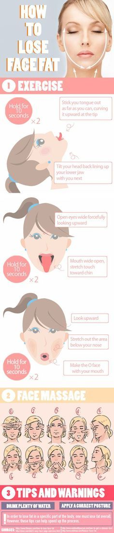 lose-face-fat-infographic