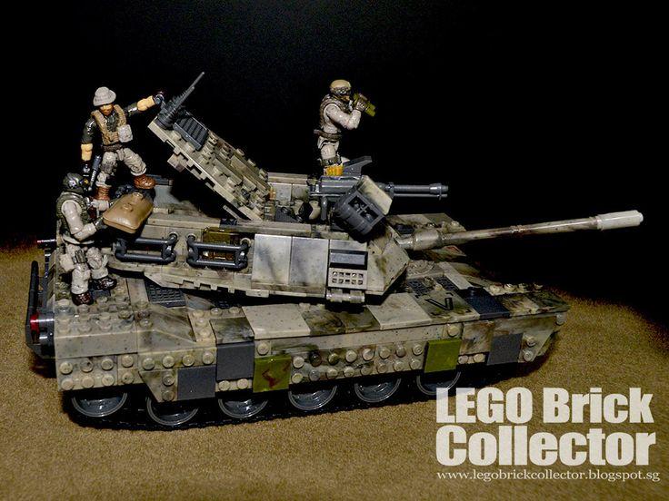 https://flic.kr/p/TAQhjw | Mega Bloks Call of Duty Heavy Armor Outpost M1 Abrams | legobrickcollector.blogspot.sg/2017/04/mega-bloks-call-of...