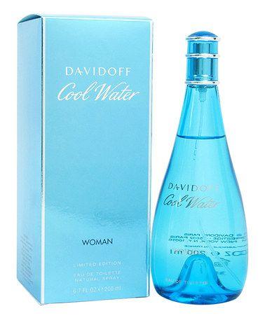 This Davidoff Cool Water Eau de Toilette - Women by Davidoff is perfect! #zulilyfinds $35.00  THE BEST!!