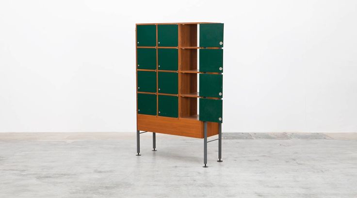 Egon Eiermann Cabinet | From a unique collection of antique and modern cabinets at https://www.1stdibs.com/furniture/storage-case-pieces/cabinets/