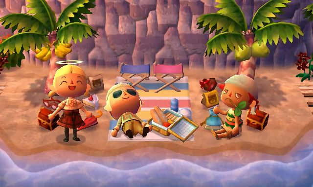 Beaches And Shores Animal Crossing Fan Art Animal Crossing Wild