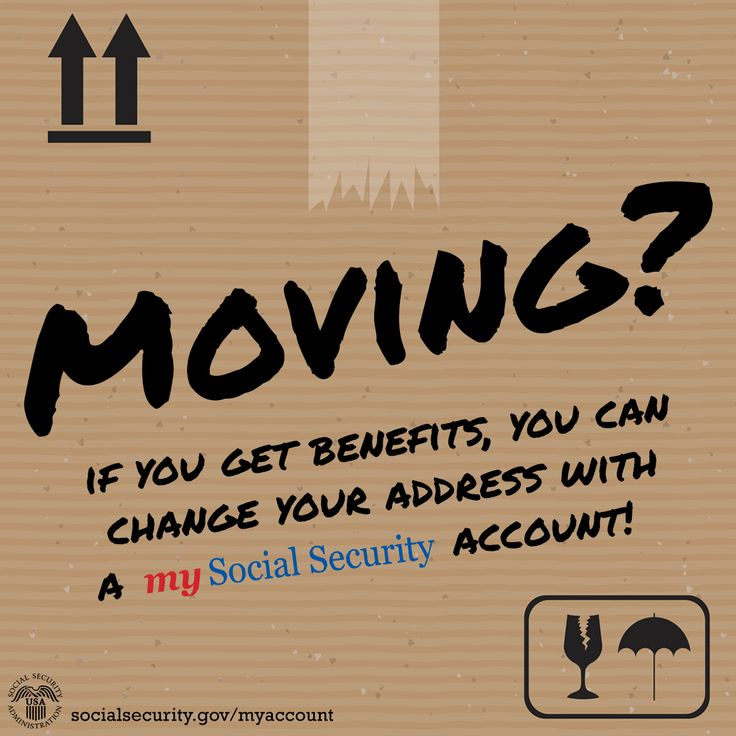 43 best My Social Security images on Pinterest Social security - Social Security Change Of Address