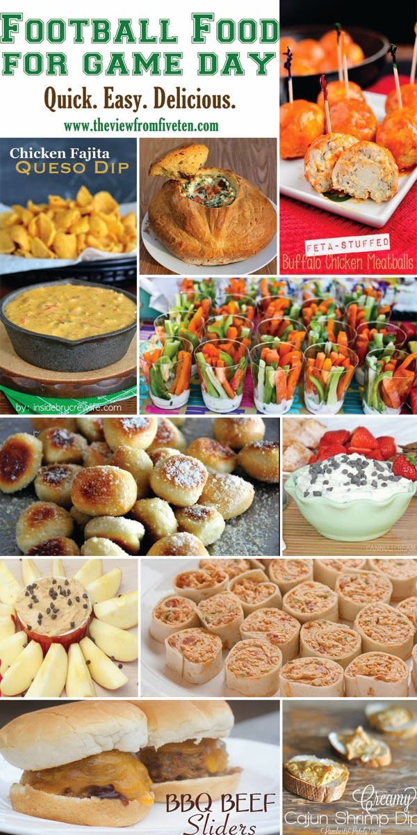 best snacks for game day