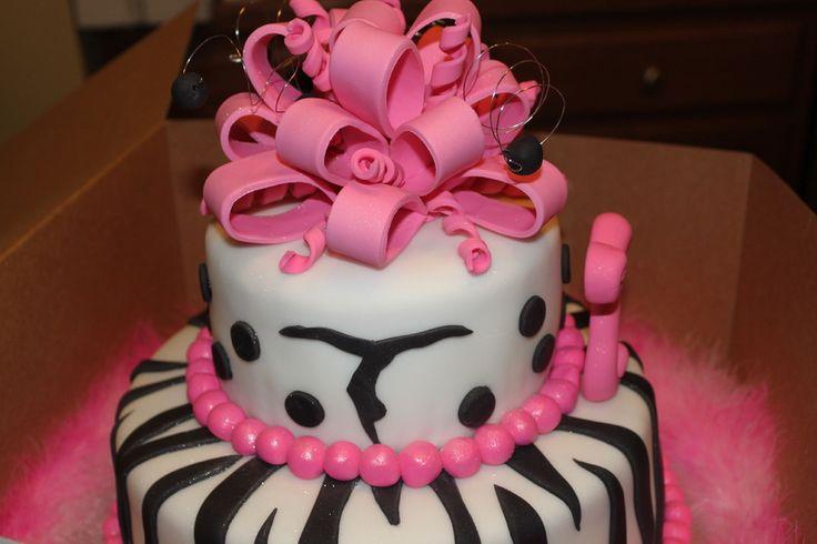 "Gymnastic Girly cake in ""Birthday Cake Photos"" — Photo 4 of 4"