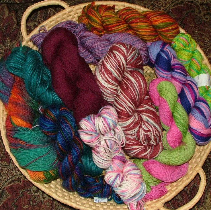 Yarn Lot Destash, Assorted Fibers, DK and Fingering Weight, Some Hand Dyed, 11 Skeins, 1.5 lbs (680g), Crochet Knit by 3CsTwistedStitchers on Etsy