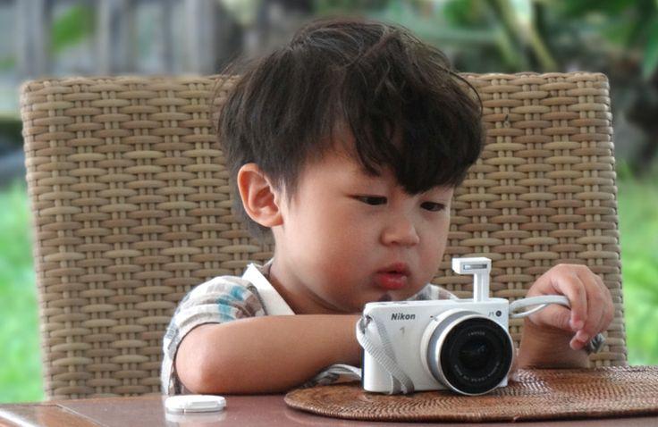 Cute kid - my #camera